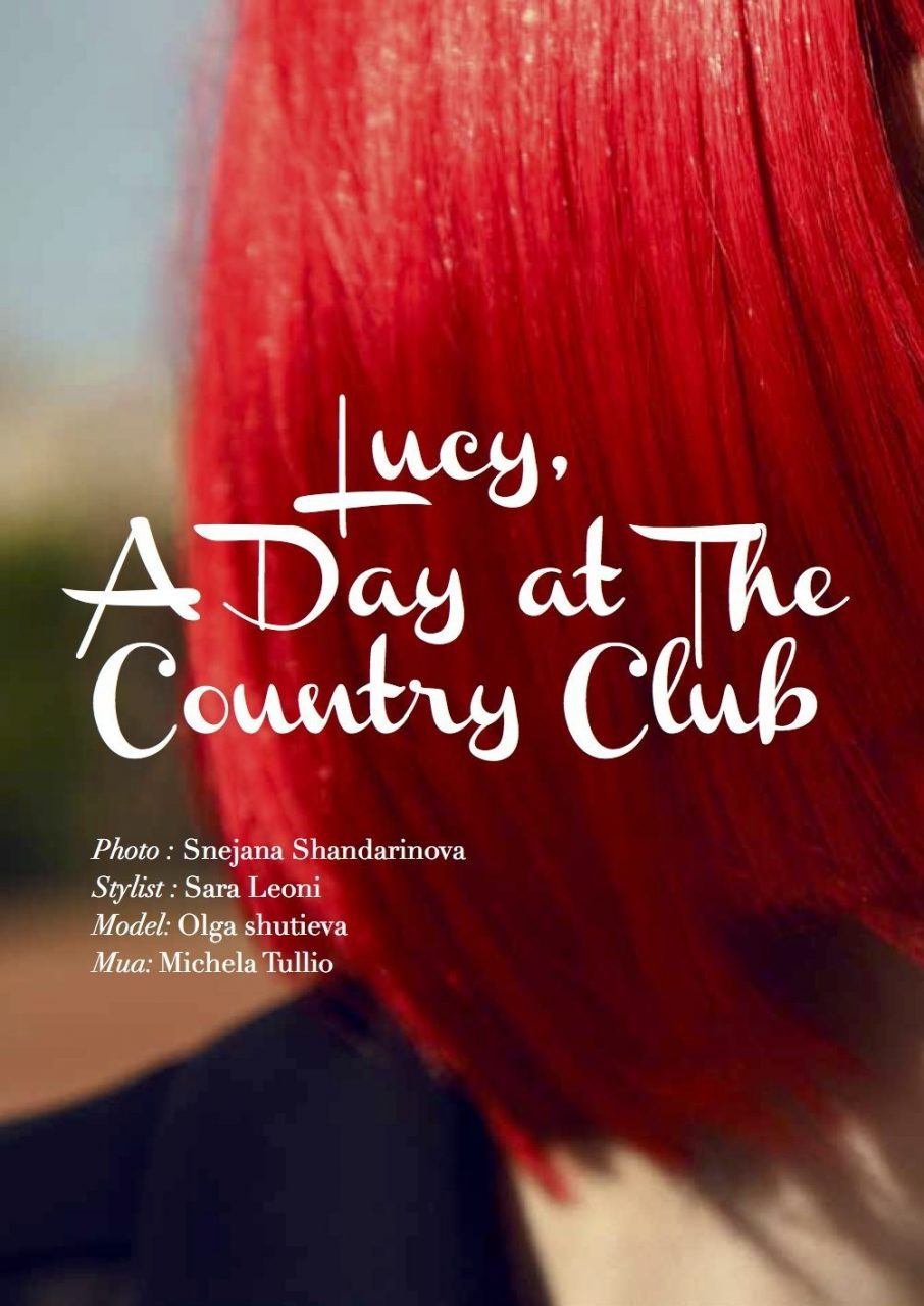 Lucy, A Day At The Country Club 1