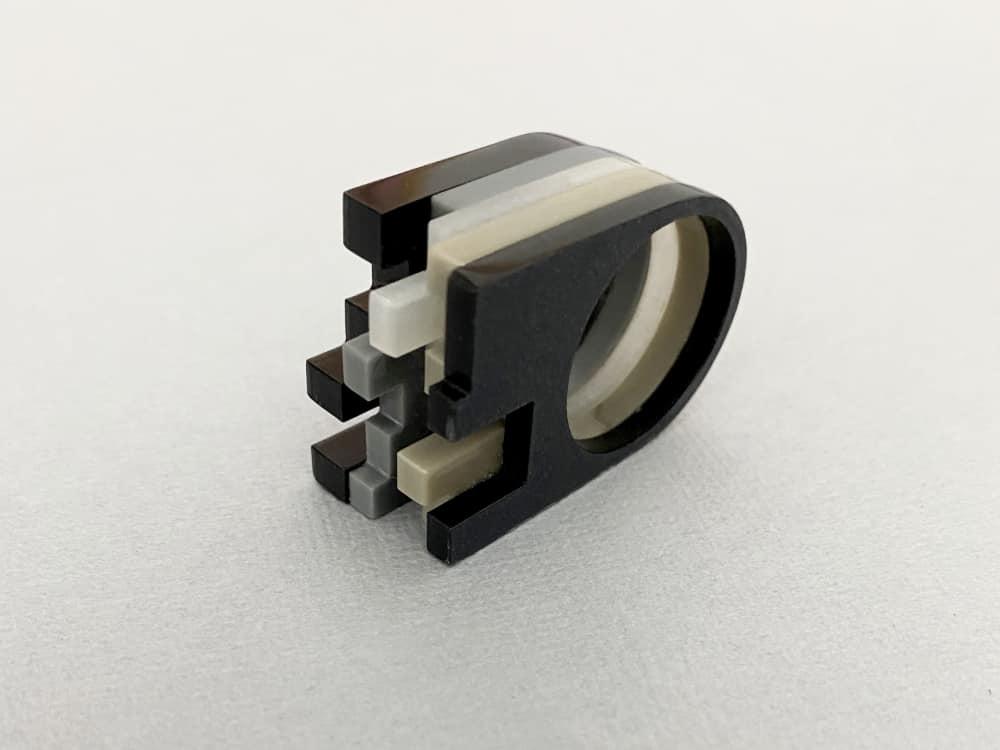 Deconstructive Architectonical Ring