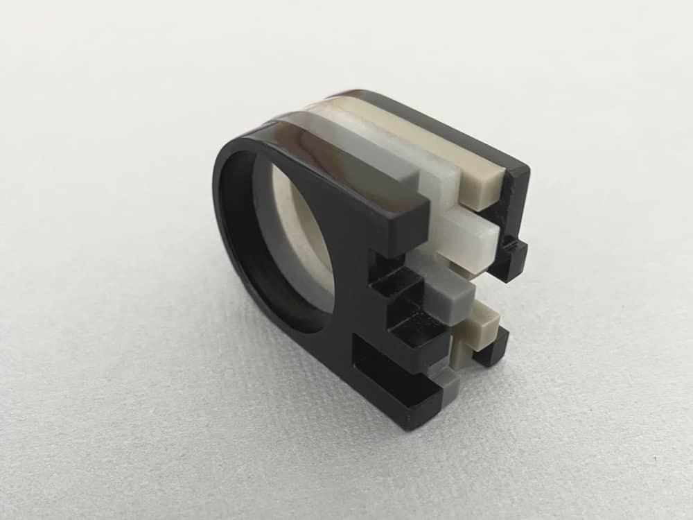 Deconstructive Architectonical Ring plexi shock