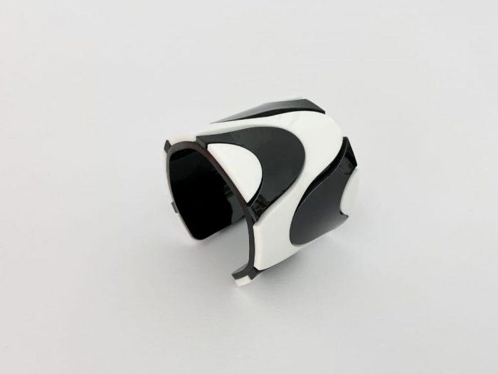 Optical Art Cuff Bracelet