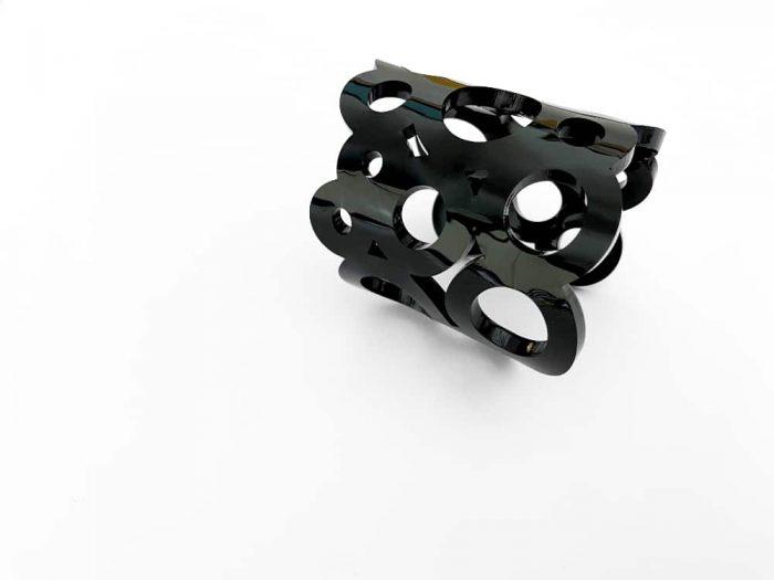 plexiglass bracelet