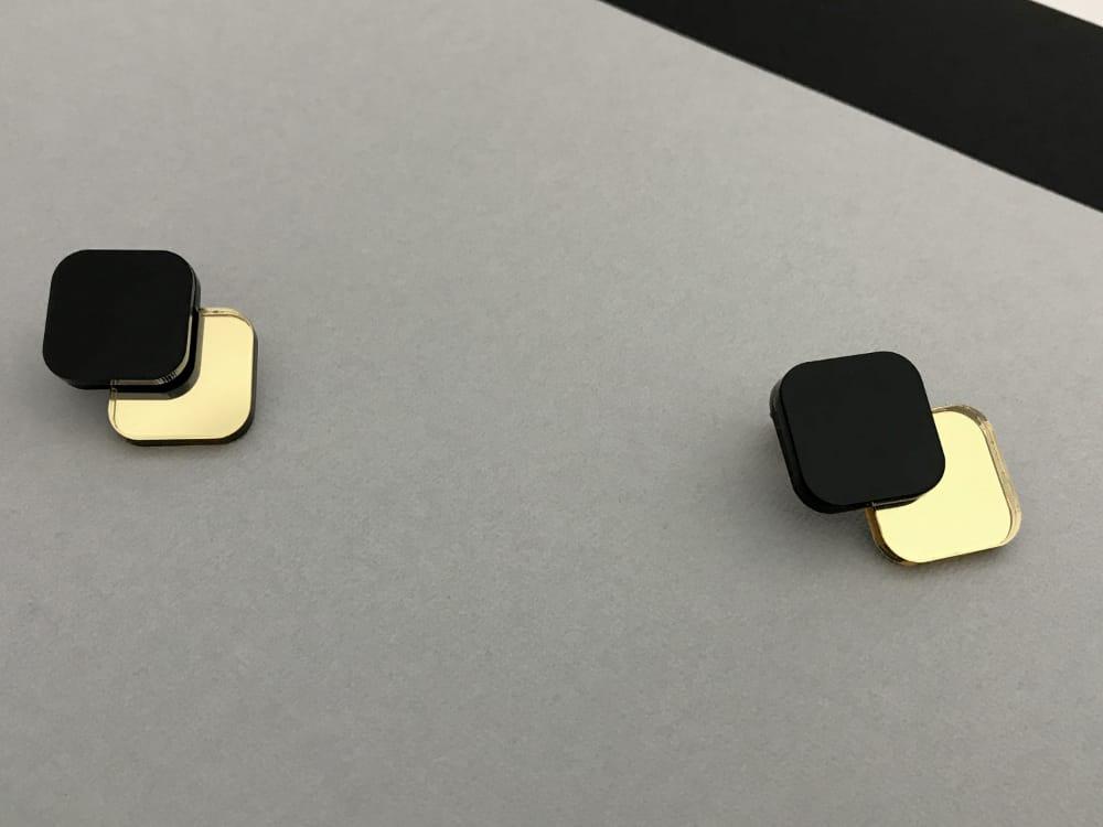 60s 70s Minimal Earrings