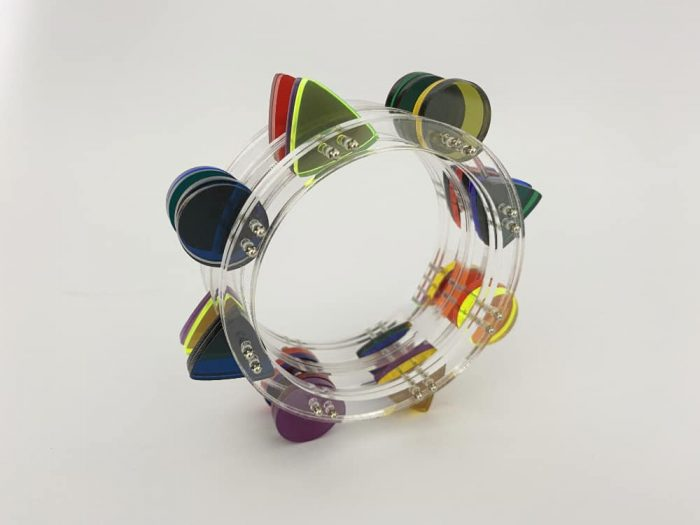 design perspex bangle by plexi shock
