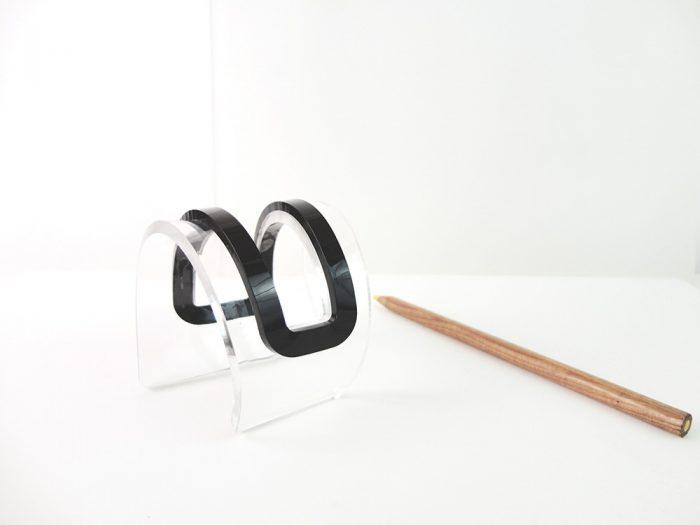 Avant-Garde Perspex Geometric Bracelet