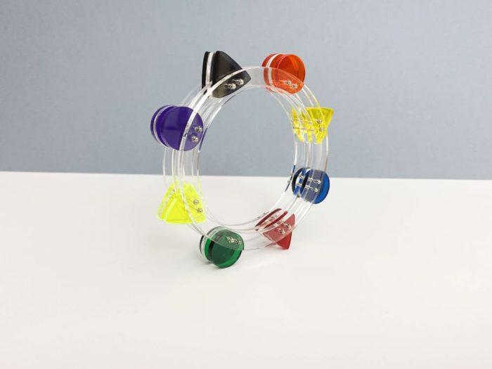 luna park perspex design bracelet