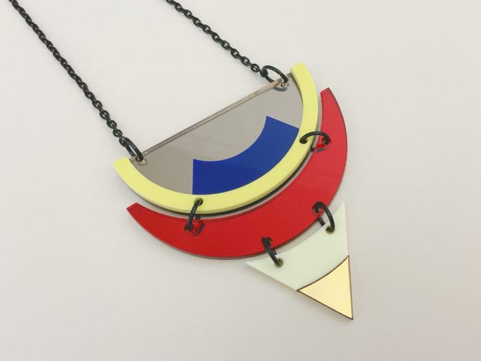 enigmatic color aztec necklace