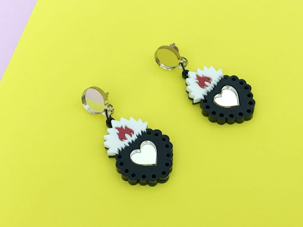 Ex Voto Acrylic Earrings 2