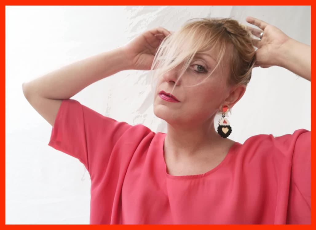 Ex Voto Acrylic Earrings 1