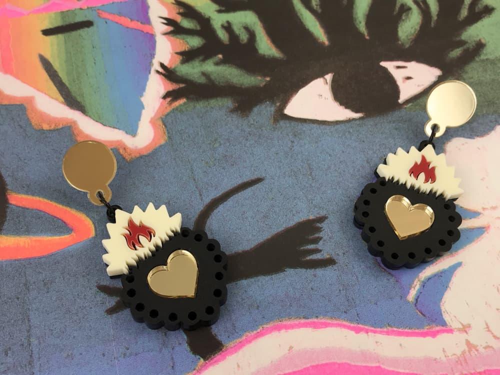 Ex Voto Acrylic Earrings 4