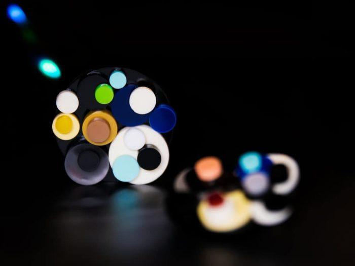 experimental earrings