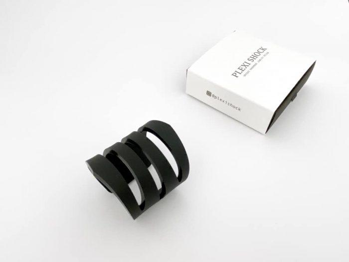 minimalistic black bracelet
