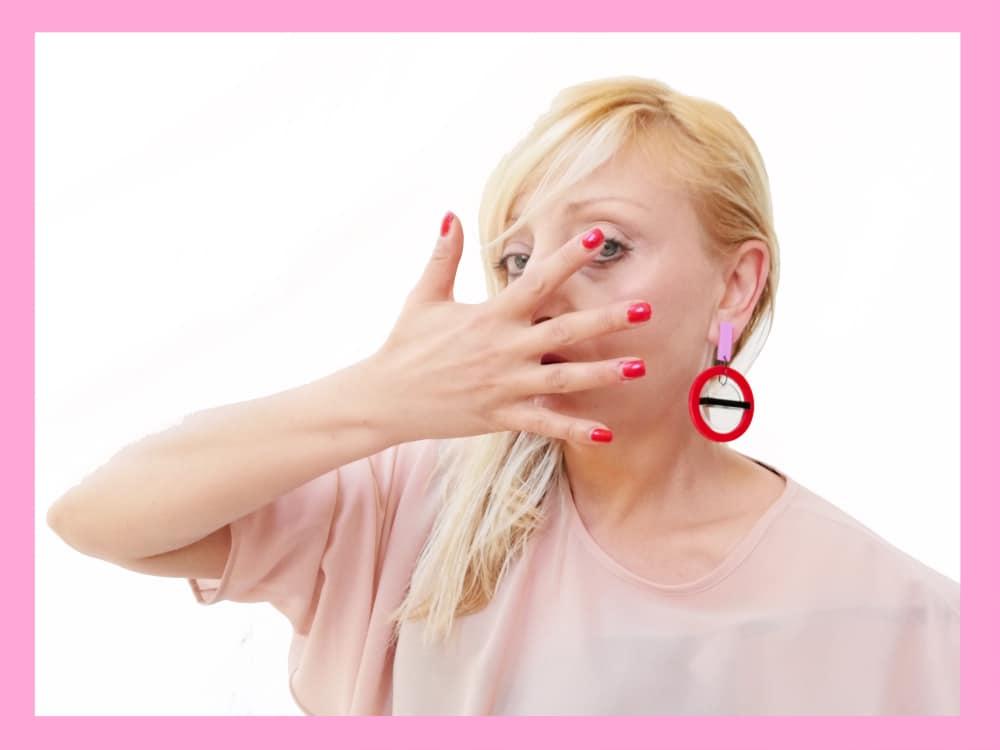 plexiglass earrings by plexi shock