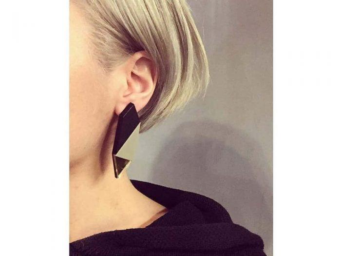 orecchini irregolari