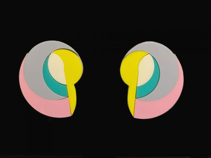Plexiglass Design Earrings