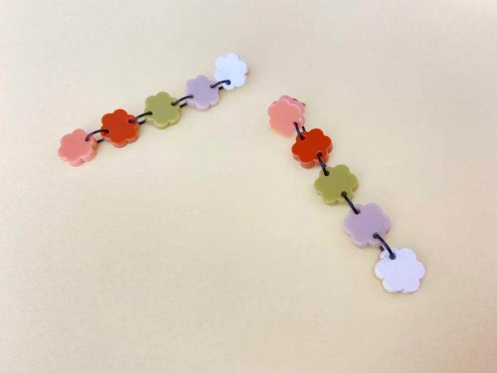 long chain dangle earrings