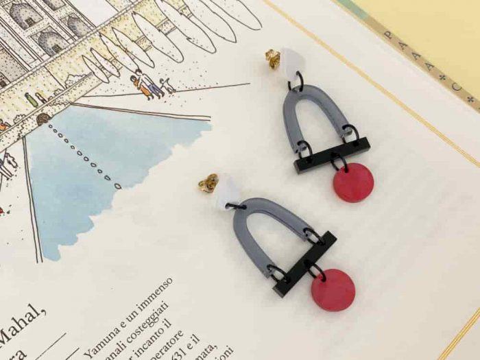 memphis dangle drop earrings
